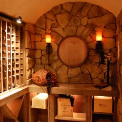 Build A Stone Wine Cellar