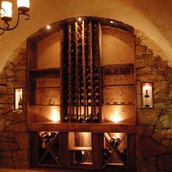 Rustic Wine Cellar in Long Grove