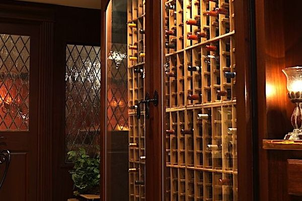Wine cellar with tasting room